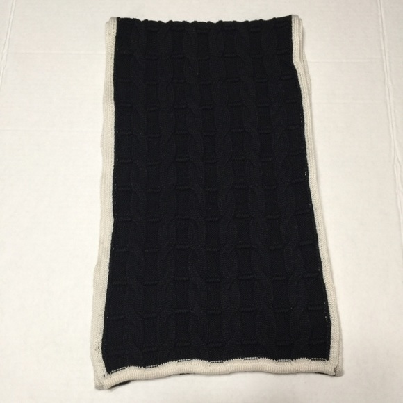 Talbots Accessories - Talbots Black and White Scarf